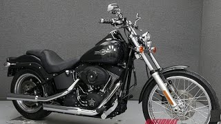 10. 2007  HARLEY DAVIDSON  FXSTB SOFTAIL NIGHT TRAIN   - National Powersports Distributors