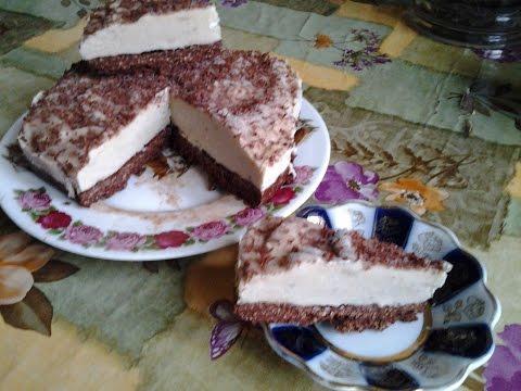 torta gelato alla banana (ricetta veloce senza gelatiera)