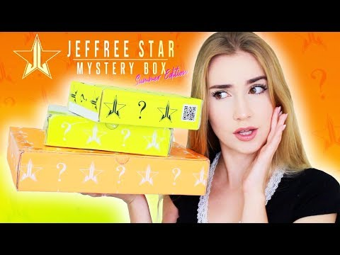 Unboxing Jeffree Star Mystery Boxes!! AGAIN.. & Late again!!