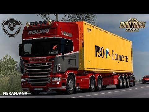 Loud Engine Sounds for Scania V8: R & Streamline 1.35.x