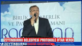 Zeytinburnu Protokolİftarı 2014