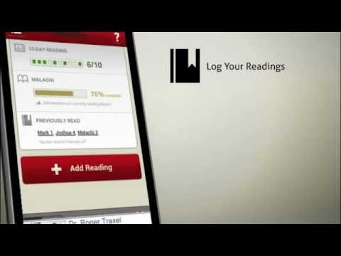 Video of The LEAP Bible Companion App