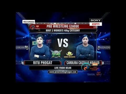 Ritu Phogat Vs Carolina Castillo