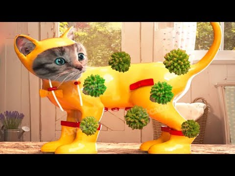 Fun Pet Care Game - Little Kitten Adventures - Play Costume Dress-Up Party Mini Games For Children