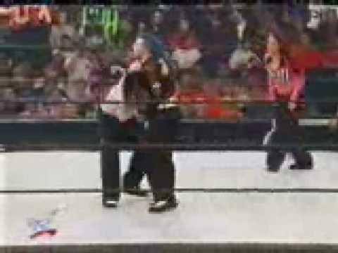 Jeff Hardy vs Matt Hardy Lita special referee part 1