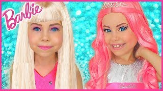 Video Alice Pretend Play how Barbie Doll | Funny video Compilation by kids smile tv MP3, 3GP, MP4, WEBM, AVI, FLV Juli 2019