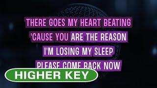 Video You Are The Reason - Calum Scott | Karaoke Higher Key MP3, 3GP, MP4, WEBM, AVI, FLV Juni 2018