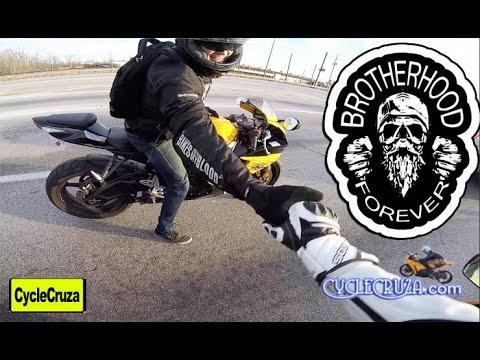 Motorcycle BROTHERHOOD | CycleCruza видео