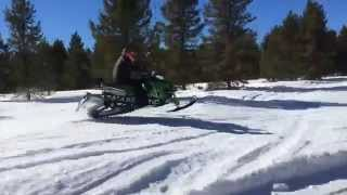 8. Testing a Prototype 2016 Arctic Cat ZR6000R XC Race Sled