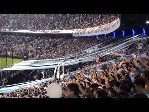 ¡De pendejo soy de Racing no me importa nada vos me haces feliz! - La Guardia Imperial - Racing Club - Argentina - América del Sur
