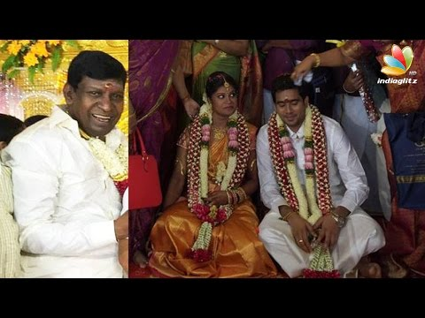 Vadivelu's Second Daughter Marriage : Thiraialayam | Tamil ... Vadivelu Daughter Kavya Marriage