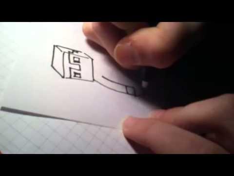 Minecraft Steve RICHTIG zeichnen