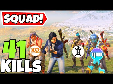 I TEAMED UP WITH YANRIQUE, KVLEOFFICIAL & GEMINI IN CALL OF DUTY MOBILE BATTLE ROYALE