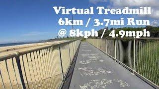 Bulli Australia  city images : Virtual Treadmill Run - Bulli Beach, NSW Australia - 6km / 3.7mi @ 8kph /4.9mph
