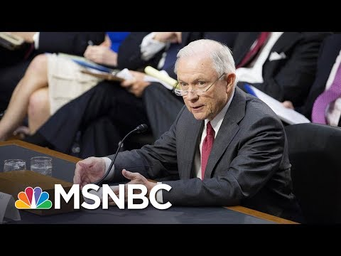 Jeff Sessions Seemed To Offer New Information On Meetings With Russians | The 11th Hour | MSNBC