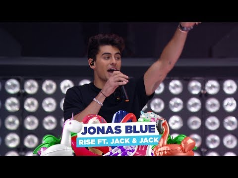Jonas Blue - 'Rise Feat Jack & Jack' (live At Capital's Summertime Ball 2018)