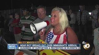 Murrieta (CA) United States  city photo : Hundreds rally outside Border Patrol office in Murrieta