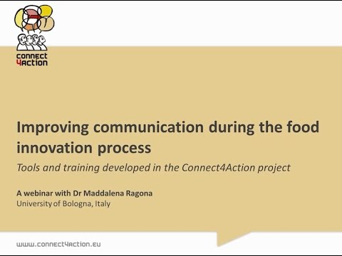 Connect4Action - Improving communication during the food innovation process