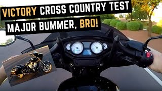 1. Used Victory Cross Country 8-Ball on Craigslist: Test Ride, Was it a Mistake Not Buying it?