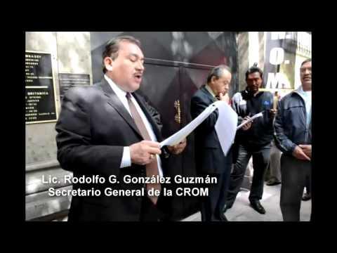 plant�n cromista frente a la embajada de Gran Breta�a en M�xico