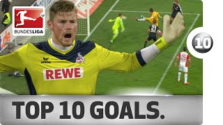 Video Top 10 Strange Goals - 2014/15 MP3, 3GP, MP4, WEBM, AVI, FLV Juli 2018