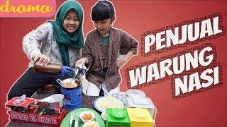 Video Drama parodi penjual warung nasi - Azka Mecca pretend to play cooking dishes MP3, 3GP, MP4, WEBM, AVI, FLV Maret 2019
