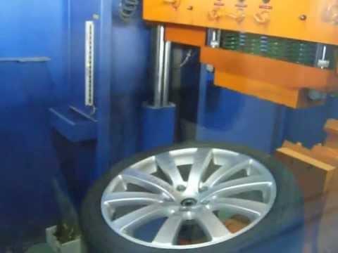 Тест на удар спицы диска WSP Italy W459 Sahara (Volkswagen)