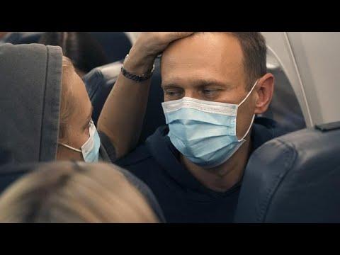 Les partisans d'Alexeï Navalny manifestent dans toute la Russie : au moins 1000 arrestations