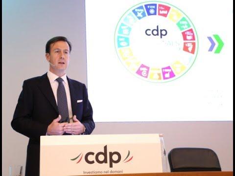 Intervento di Fabrizio Palermo - Conferenza stampa Piano industriale 2019-2021 CDP