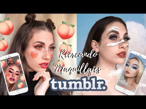 RECREANDO MAQUILLAJES TUMBLR 2