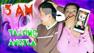 Video NUNCA JUEGUES TALKING ANGELA A LAS 3AM!! QUÉ MIEDO!! | Palomitas Flow MP3, 3GP, MP4, WEBM, AVI, FLV Januari 2018