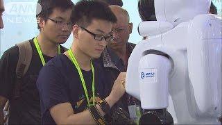 「無人機は生活道具に」 中国で科学技術展示会