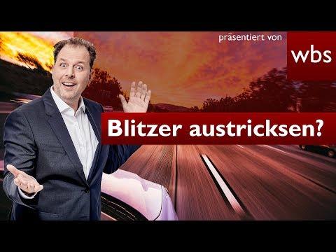 Blitzer Austricksen - Strafbar?