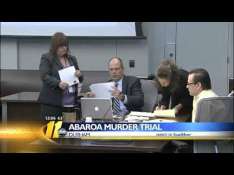 Jury shown bloody crime scene photos in Abaroa trial