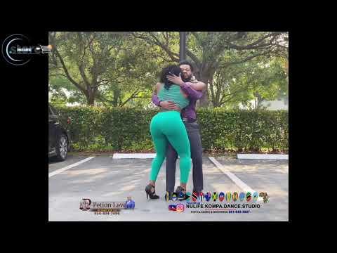 HAITI🇯🇲🇭🇹 & JAMAICA 🇯🇲🇭🇹 KOMPA CHOREOGRAPHY.JAMAICAN FEMALE #KOMPA DANCER CLAUDEL & NICOLE