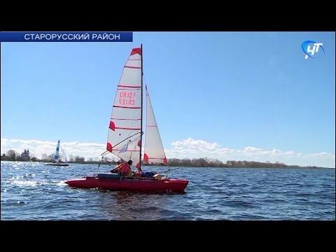 В акватории озера Ильмень проходит регата Санкт-Петербургского «Кубка трех адмиралов»
