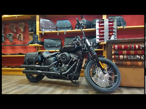 How to mount saddle bag on HD Street Bob, Slim, Low Rider 2018- endscuoio