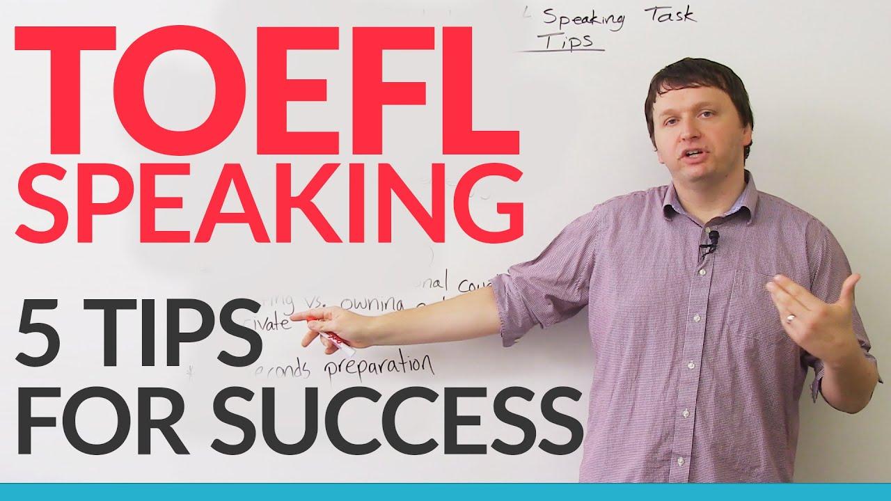 toefl ibt independent speaking task 5 ways to succeed engvid. Black Bedroom Furniture Sets. Home Design Ideas