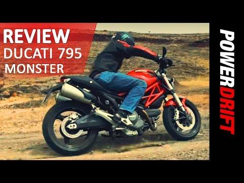 Ducati 795 Monster : Quick Review : PowerDrift