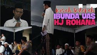 Video Ceramah Ust Abdul Somad Lucu, Kisah Sedekah Hj ROHANA Amalan Ibunda UAS Part 4 MP3, 3GP, MP4, WEBM, AVI, FLV Maret 2019