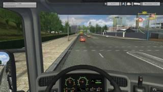 Euro Truck Simulator videosu