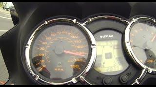 7. Suzuki V-Strom DL1000 acceleration 0-100 km/h (0-60 mph) & 0-200 km/h (0-125 mph)