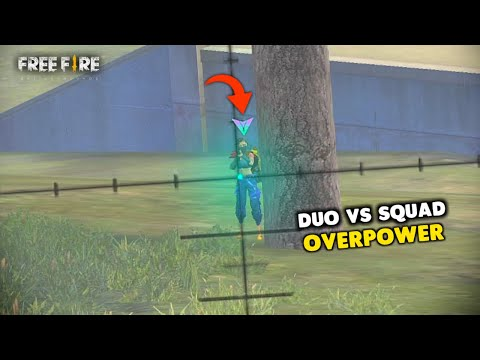 Kill Chor Amitbhai with Duo vs Squad OverPower Gameplay - Garena Free Fire