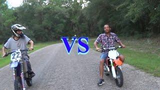 6. YZ 85  vs  KTM 65  MOTO Vlog
