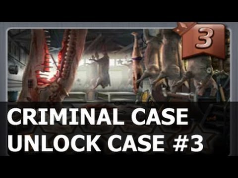 CRIMINAL CASE - How To UNLOCK CASE 3 Facebook GAMEPLAY