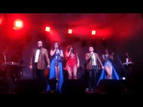 Canta Mariana Seoane con la Sonora Dinamita