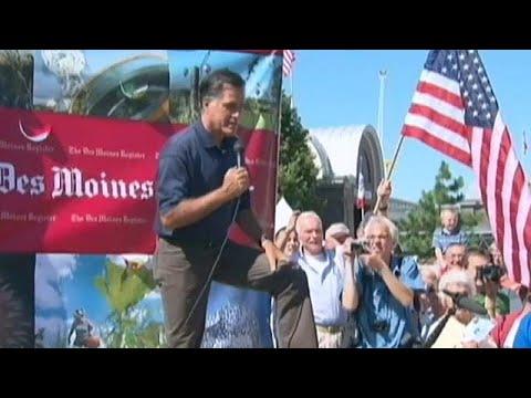 Ex - Präsidentschaftskandidat Mitt Romney kandidier ...