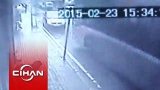 2 kişinin öldüğü otobüs kazası kamerada