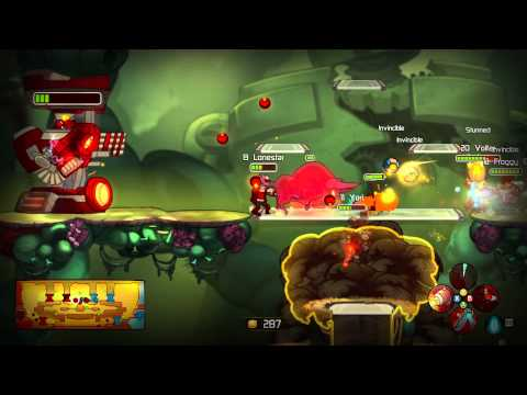 Awesomenauts Meet the Characters Trailer