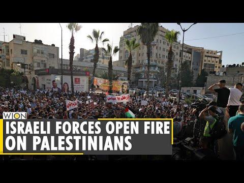 West Bank Unrest: Israeli forces open fire on Palestinians